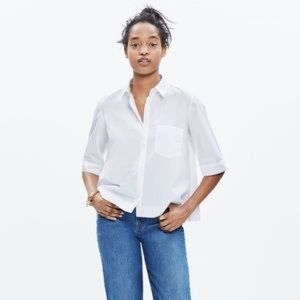 Madewell Cotton Morningside button up shirt XS